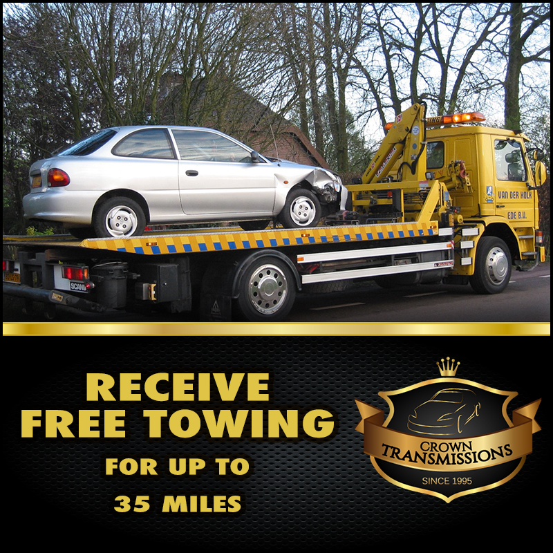 Car Transmission Specials Best Transmission Service - Free Towing - Crown Transmissions receives 5 Star Transmission Shop Reviews Premium Transmission Repair